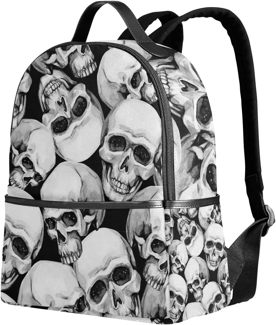 Fashion Ladies Oilcloth Backpack Rucksack School College Shoulder Laptop Bag Wom