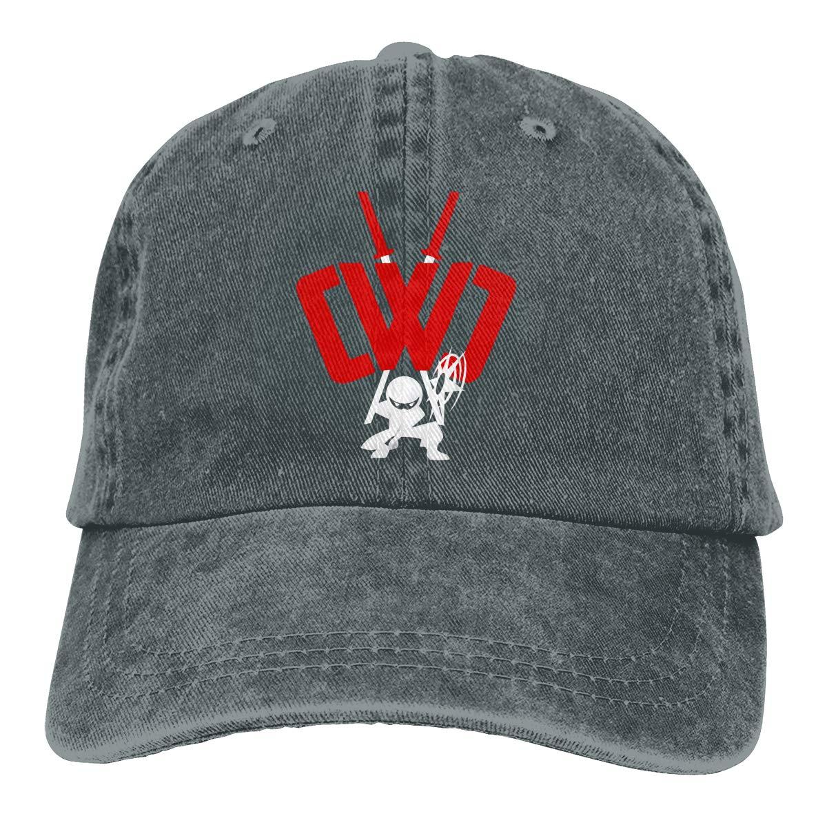 CWC Chad Wild Clay Ninja Adjustable Baseball Caps Denim Hats ...