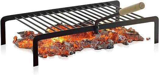 Barbecook 223.0940.000 - Parrilla para chimenea (4 patas): Amazon ...