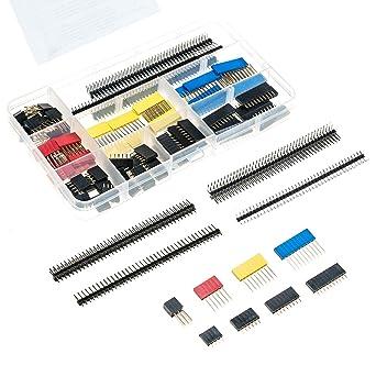 10pcs 1 x 40pin 2mm Female Single Row Breakaway Pin header for Arduino DIY New