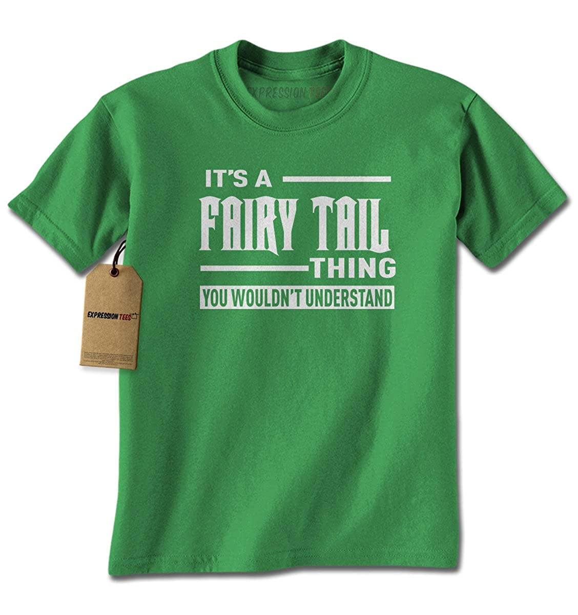 Expression Tees It's A Fairy Tail Thing Mens T-shirt 1998-M