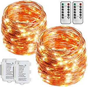 Giveaway: STARKER 2 Pack Battery Operated String Lights 36ft 100 LEDs…
