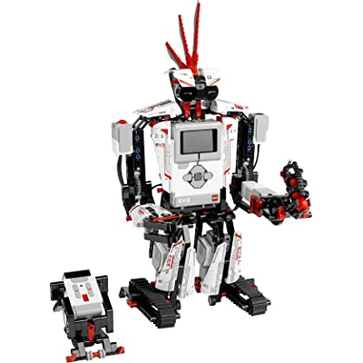 LEGO MINDSTORMS EV3 31313 Robot Kit with Remote Control for Kids, Educational STEM Toy for Programming and Learning How to Code (601 pieces): Toys & Games