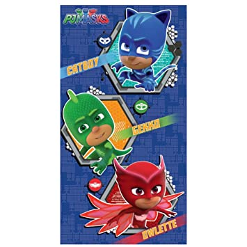 Amazon.com : PJ Masks Catboy Gekko Owlette Birthday Card ...