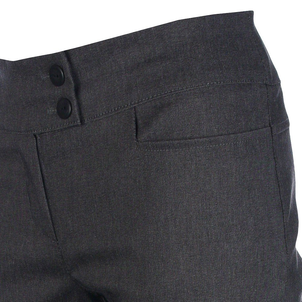Girls School Trousers Skinny Stretch Hipster Age 7 8 9 10 11 12 13 14 15 16 Black Age 13-14 years, Black