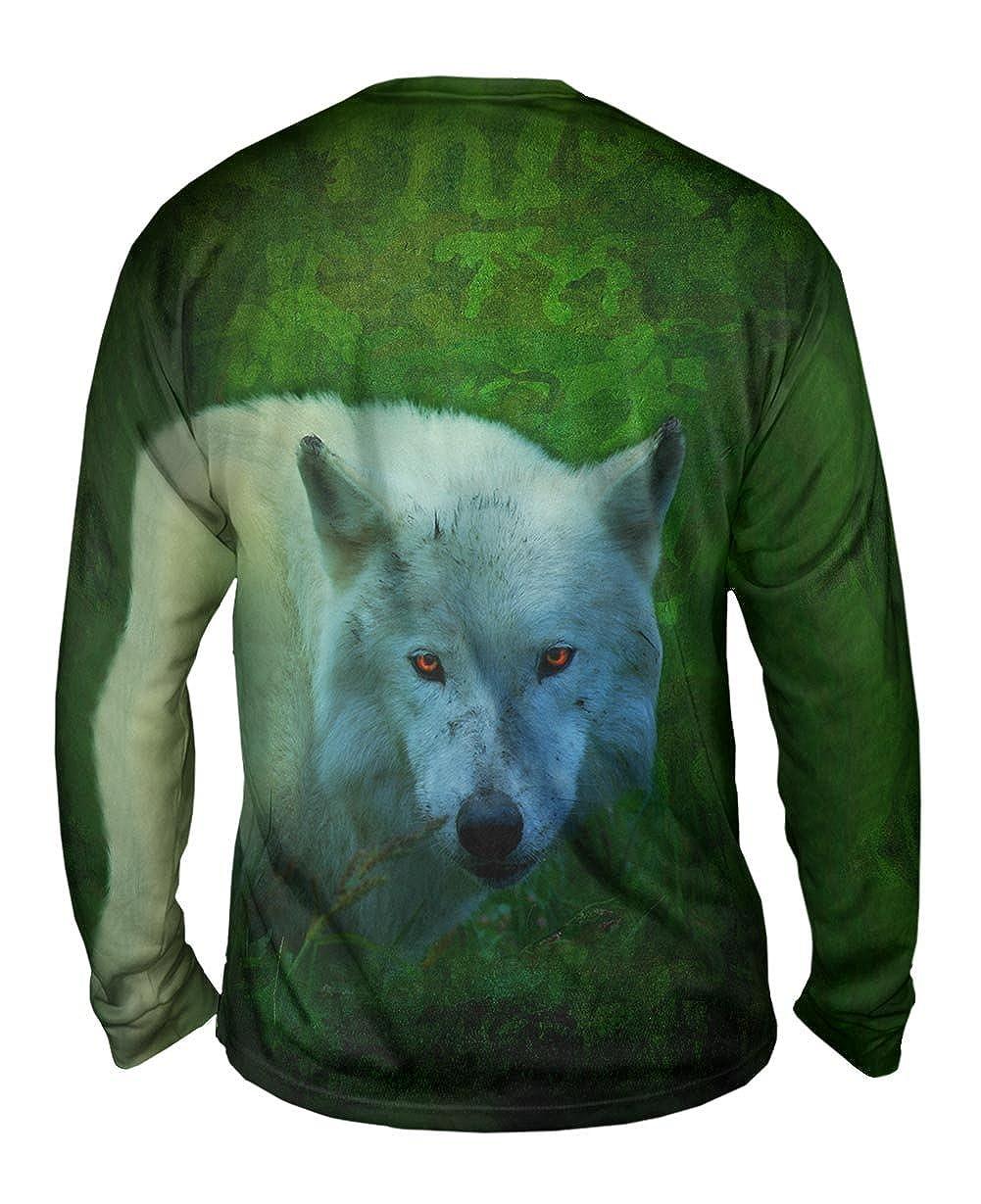 Yizzam TShirt Mens Long Sleeve Oran Wolf