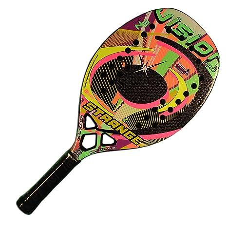 Vision Pala de Tenis Playa STRANGE 2018: Amazon.es: Deportes ...