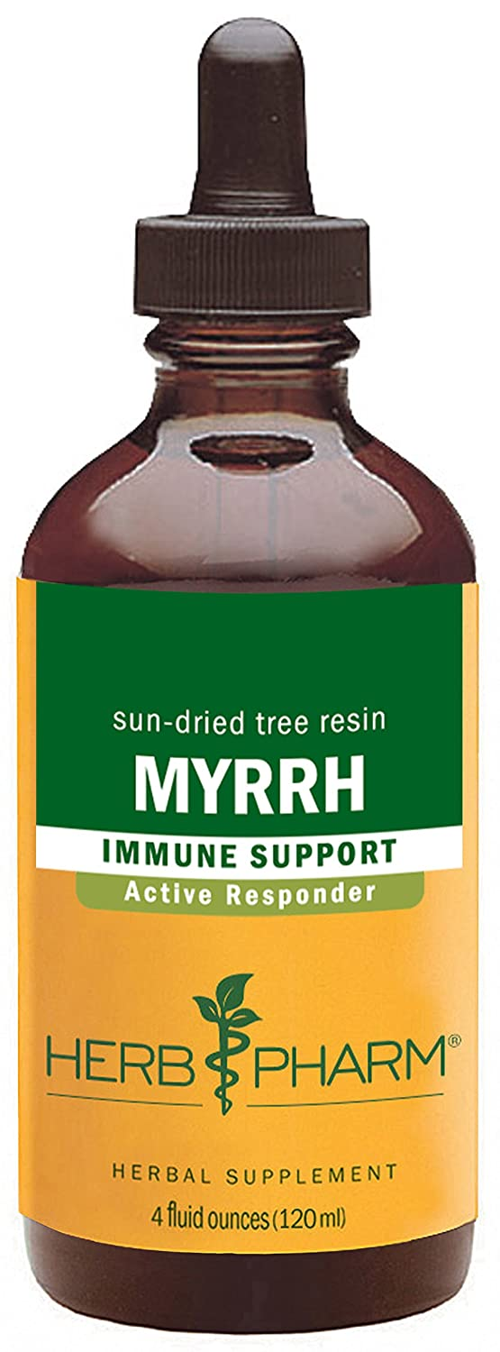 Herb Pharm Myrrh Liquid Extract for Immune System Support – 4 Ounce