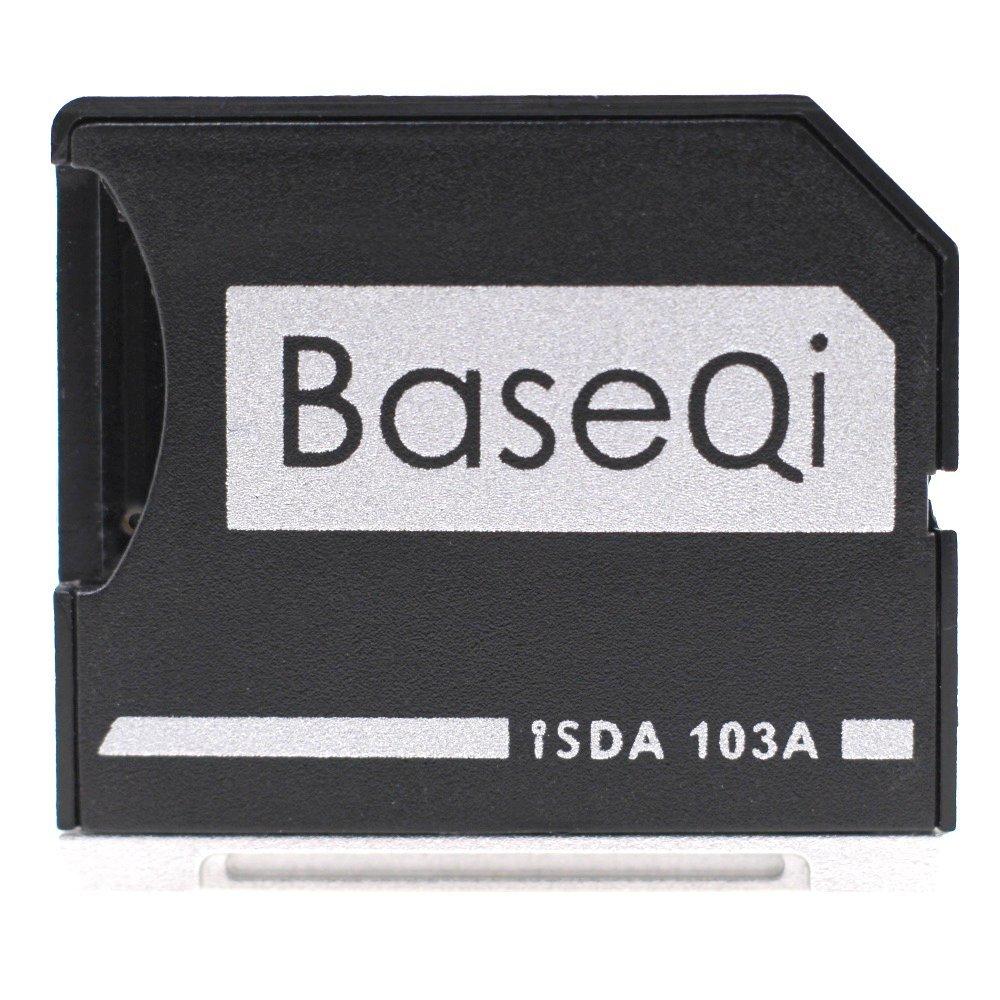 "BASEQI Aluminum microSD Adapter for MacBook Air 13"" and MacBook Pro 13""/15"" (Non-Retina)"