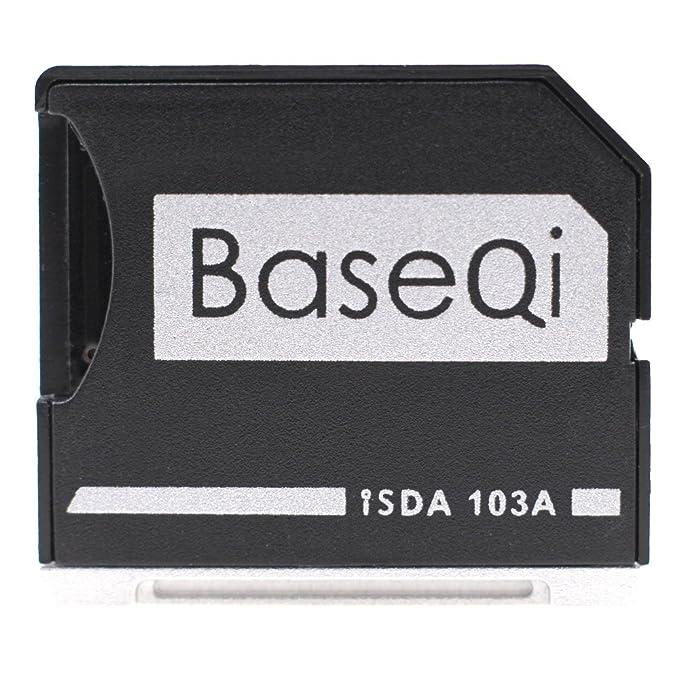 BASEQI - Adaptador microSD de aluminio para MacBook Air de 13 ...