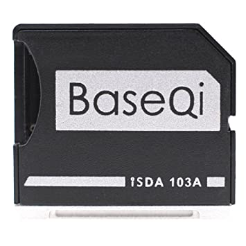 Micro Sd Karte Adapter.Baseqi Aluminum Microsd Adapter For Macbook Air 13 And Macbook Pro 13 15 Non Retina
