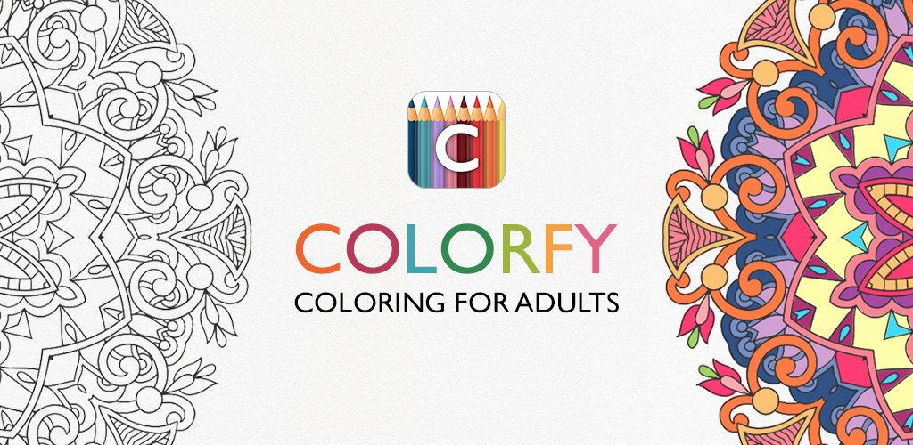 Colorfy coloring book for adults best free app amazon Coloring book for adults android