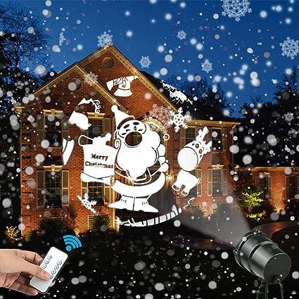 Luces del Proyector de Navidad Impermeable Luz de Proyección 3D ...