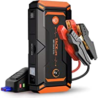 $99 » TACKLIFE T8 Pro 800A Peak 18000mAh Water-Resistant Car Jump Starter (up to 7.0L Gas, 5.5L…