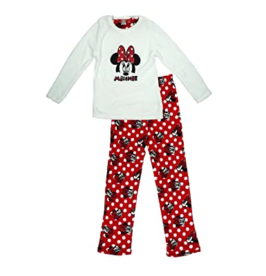 9770ebdef692 Girls Pyjamas Disney Minnie Mouse Fleece 7-13 Years Old (11-12 Years ...