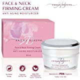 Neck Cream, Anti Aging Cream for Women, Cream for Face, Skin Tightening Cream By Arona Beauty - Good For All Skin Types, Natural Ingredients, Wrinkle Reduction, Anti Inflammatory