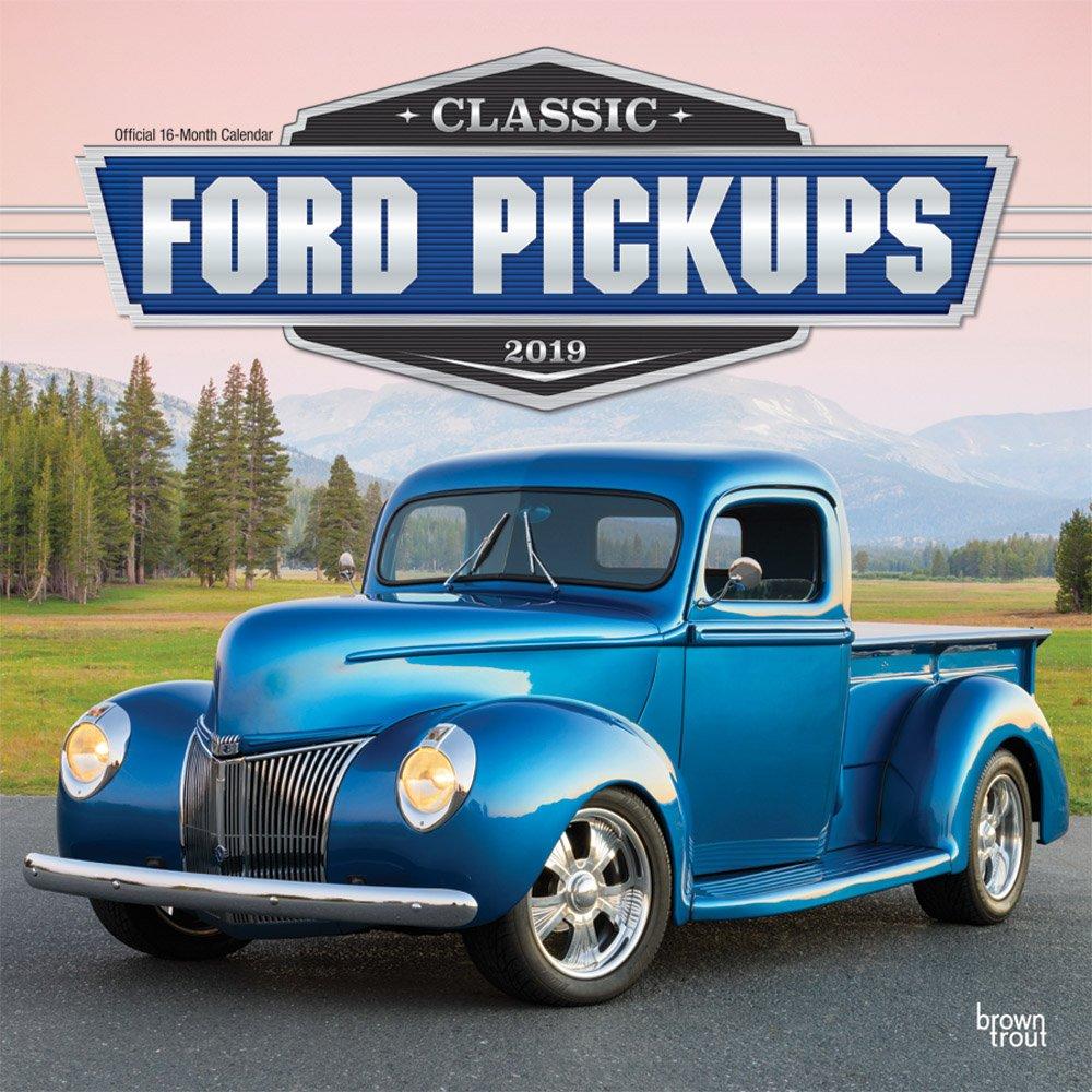 Classic Ford Pickups 9 - 9-Monatskalender Wall-Kalender ...   classic ford