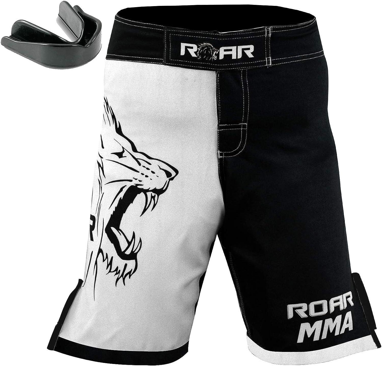 ROAR MMA Fight Shorts UFC Grappling Muay Thai BJJ Crossfit Training Jiu Jitsu No Gi Wear