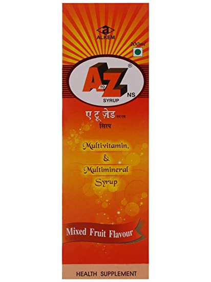 23f008ffaec Buy A To Z Ns Syrup - 200 ml (Pack of 3) Online at Low Prices in India -  Amazon.in