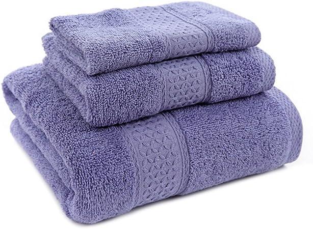 Algodón Juego De Toallas de mano con manopla, baño y baño toalla ...