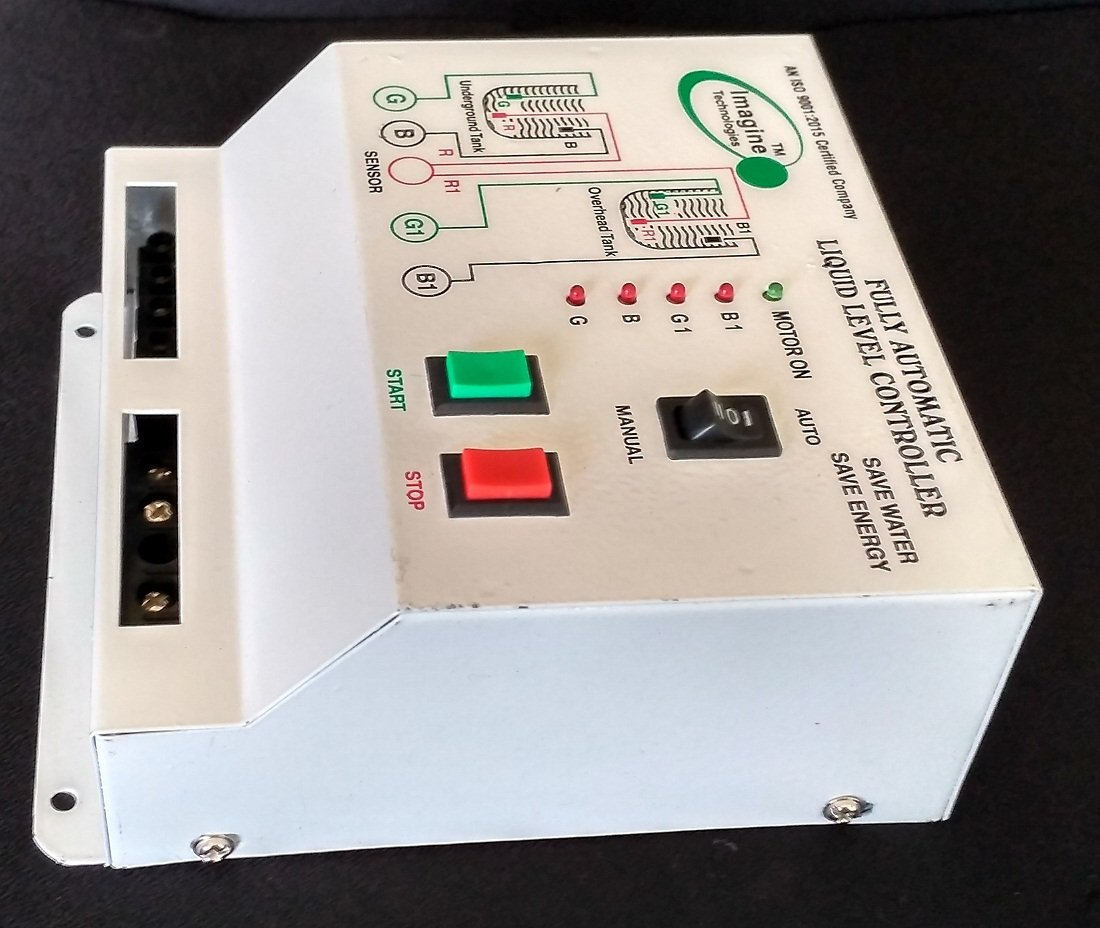 Imagine Technologies Fully Automatic Water Level Controller With Up Sensor Circuit Pictures For Their Products And Down Tank White Single Phase Electricity Compatible Industrial