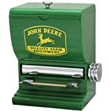 John Deere Toothpick Dispenser - Sturdy Plastic With Polished Chrome Accents