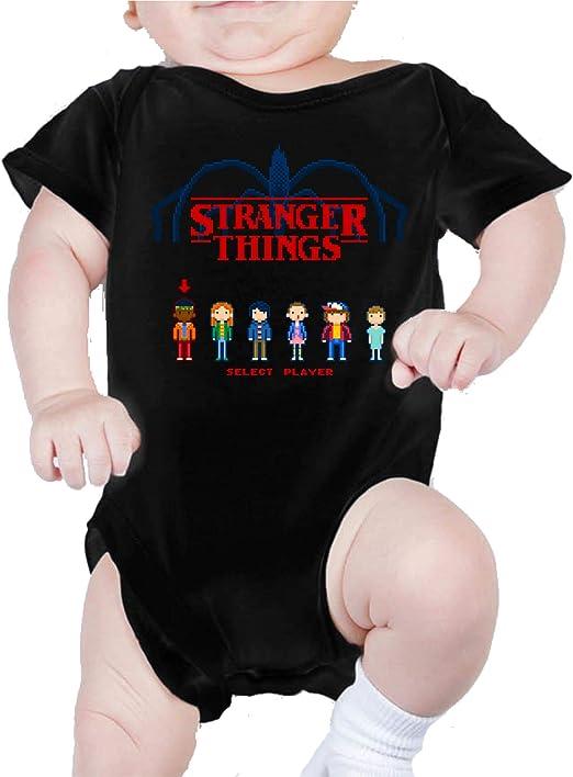 Body de NIÑO Stranger Things Once Series Retro 80 Eleven Will 012: Amazon.es: Ropa y accesorios