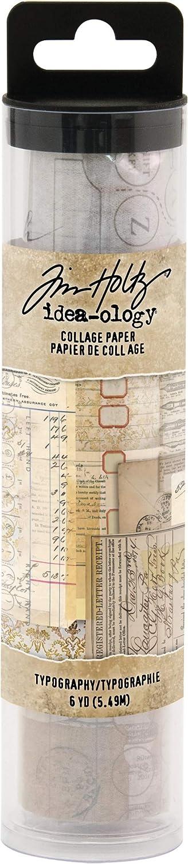 Advantus Collage Typography Semi-transparent Paper