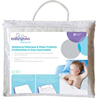 Waterproof Mattress & Sheet Protector with tuck-in flaps, perfect for any size mattress