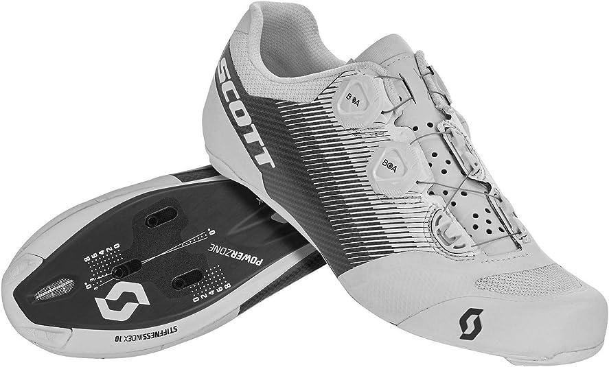 SCOTT Road RC SL 2020 - Zapatillas para Bicicleta de Carreras, Color Blanco y Negro: Amazon.es: Zapatos y complementos