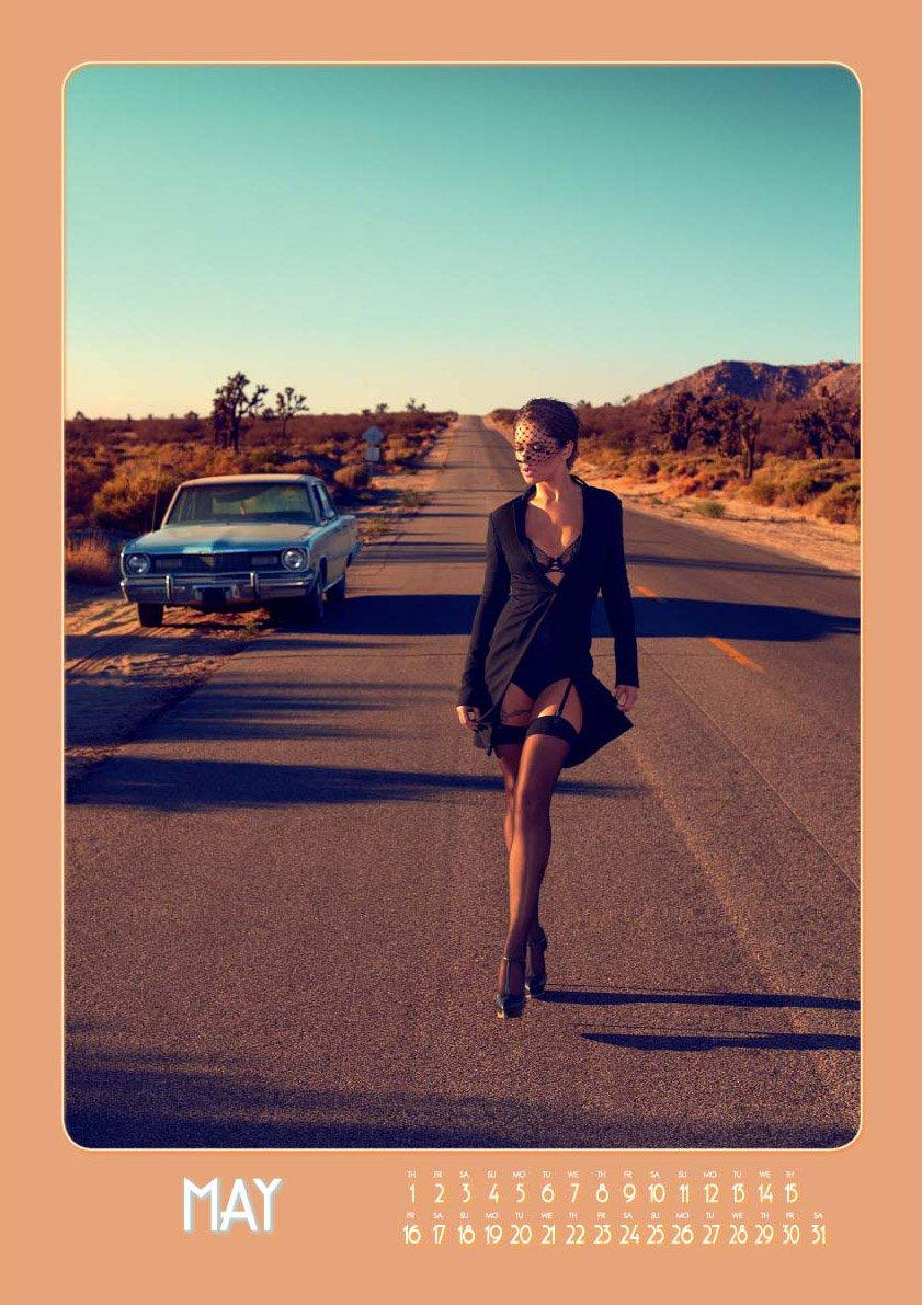 Cheryl Cole 2014 Calendar