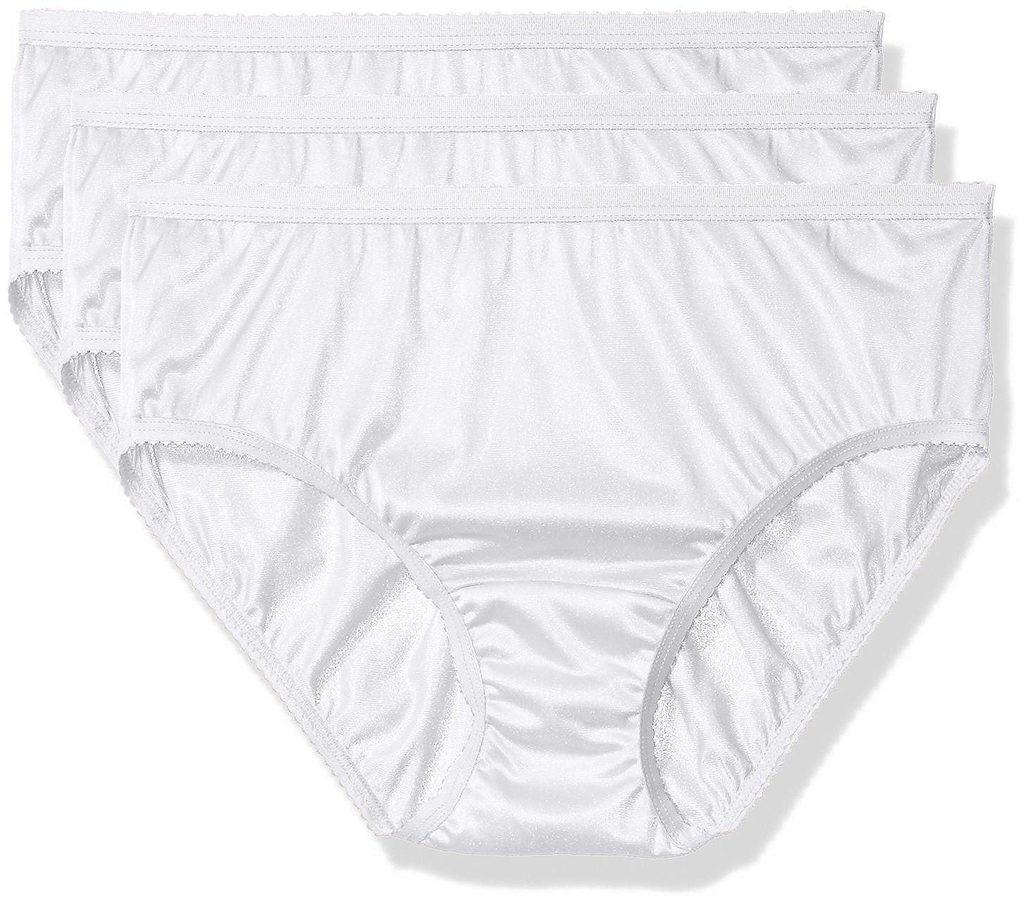 Shadowline Women's Panties-Nylon Hipster (3 Pack) Shadowline Sleepwear 11042