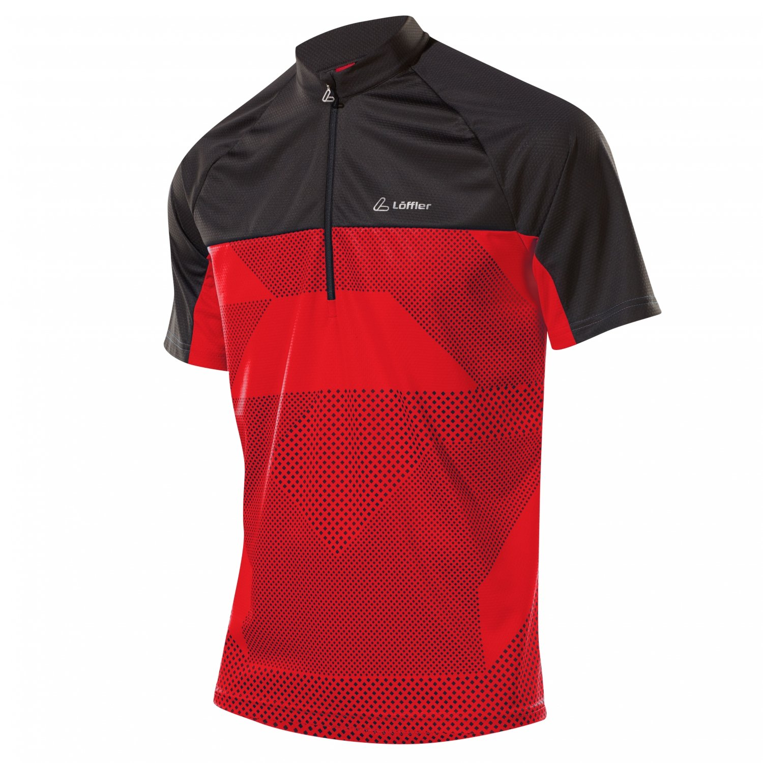 Fischer Loeffler HR. BIKE SHIRT HZ rot