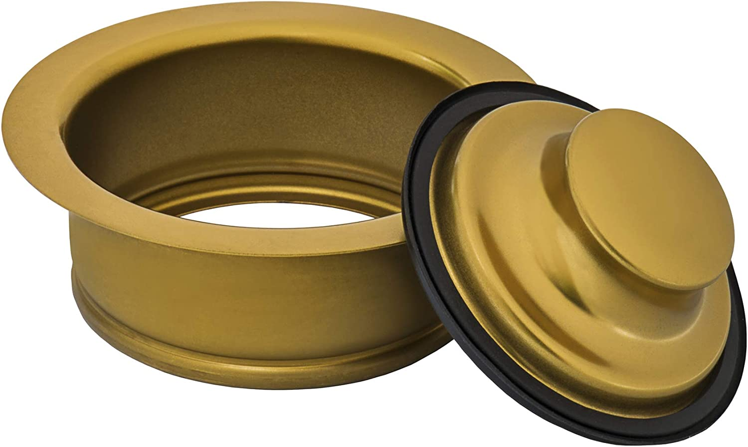 Ruvati Garbage Disposal Flange for Kitchen Sinks Copper Tone Stainless Steel RVA1041CP