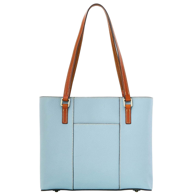 49992fa2a3e7 Dooney   Bourke Pebble Grain Leather Small Lexington Shopper Tote Purse  Handbag (Heather)  Handbags  Amazon.com