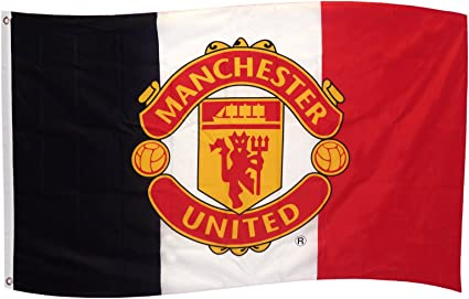 Manchester United Fc Flag One Size Red Amazon Co Uk Sports Outdoors