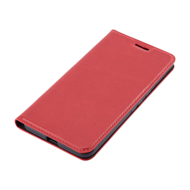 Portefeuille Etui Poche Folio Case Cover Stand Horizontal et Fente Carte Cadorabo Coque pour Huawei Nexus 6P en Noir Nuit Housse Protection avec Fermoire Magn/étique