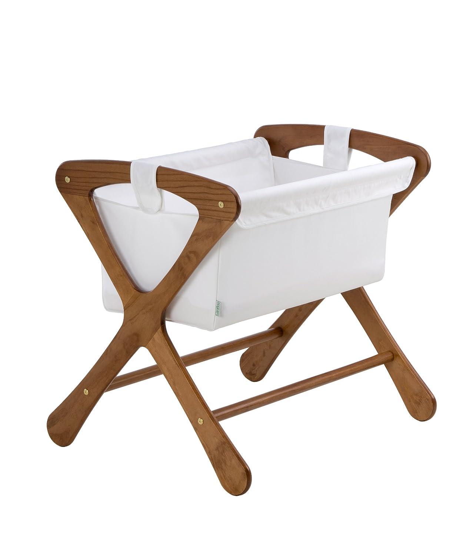 amazoncom  cariboo classic bassinet in teak  baby -