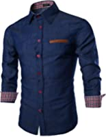 Coofandy Men's Casual Dress Shirt Button Down Shirts
