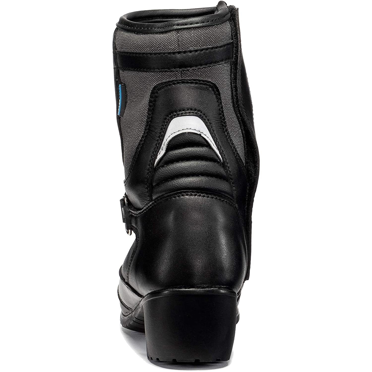 Black Lucy WP Ladies Motorcycle Boots