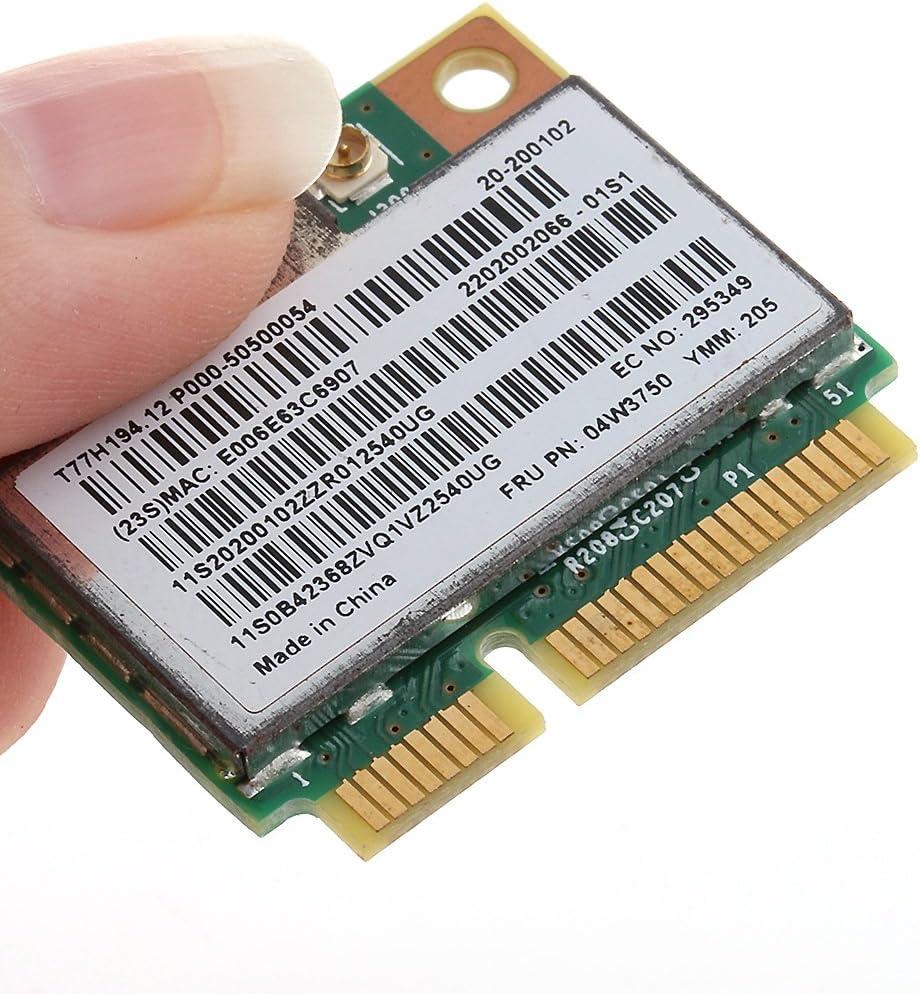 Slaxry Mini PCI-e Wireless Lan Network Card WIFI Board Card for Lenovo BCM94313HMG2L 4W3750 G700 B490