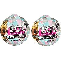 Glitter Globe L.O.L Surprise (8 Surprises) - Winter Disco - Set of 2 Globes