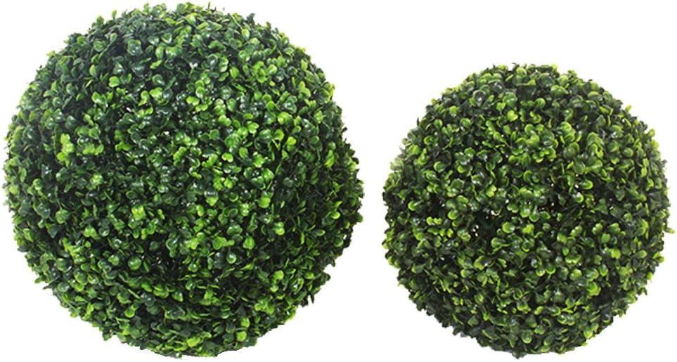 20 cm Seasofbeauty Buis Boule de Buis Plante Artificielle Boule dherbe D/écoration Maison Mariage