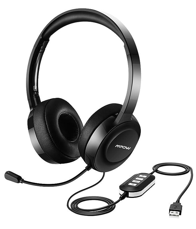 Mpow 158 Pc Headset Usb Headset 3 5mm Computer Amazon Co Uk
