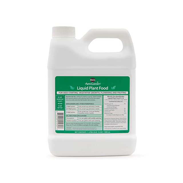 AeroGarden Liquid Nutrients