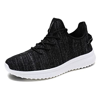 5c779caae16a DREAM PAIRS Men s 170726 2 M Black White Casual Athletic Running Shoes  Sneakers Size 6.5 ...
