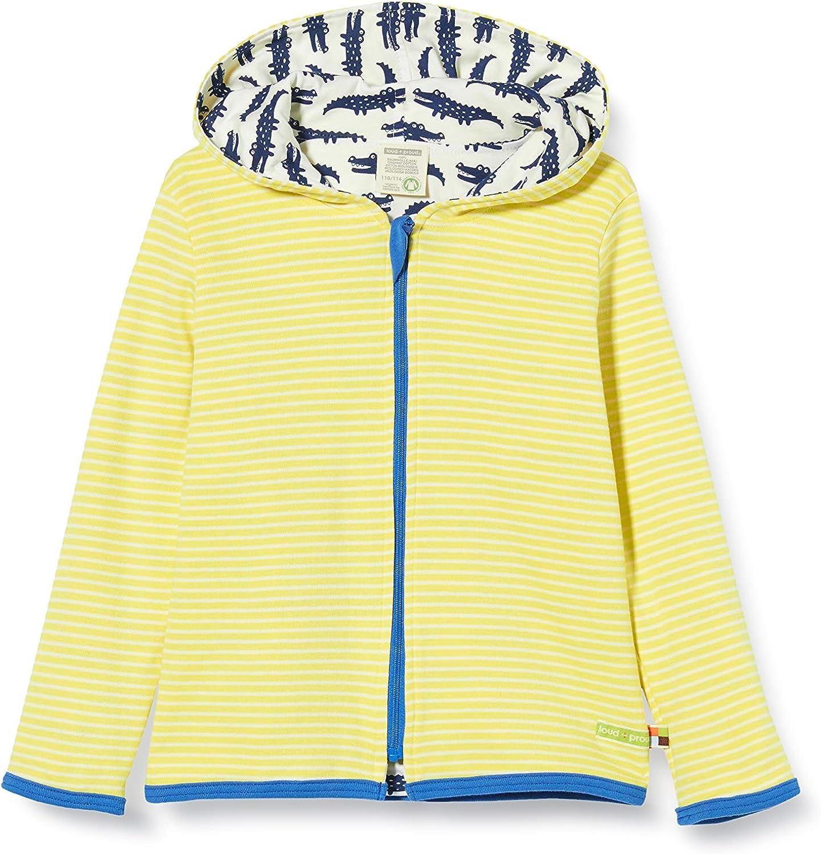 loud proud Jungen Reversible Hooded Jacket Organic Cotton Jacke