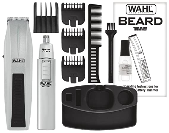 Amazon Wahl Mustache And Beard Trimmer With Bonus Trimmer 5537