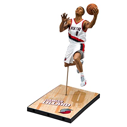41842221858 Amazon.com  McFarlane Toys NBA Series 30 Portland Trail Blazers Damian  Lillard Action Figure  Toys   Games