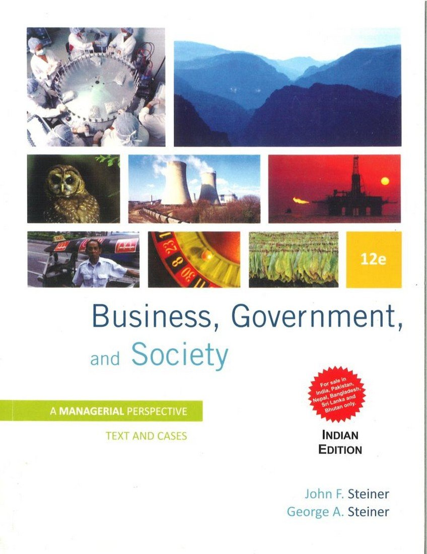 Download Business, Government and Society pdf epub